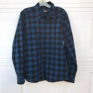 Patagonia 100% Organic Cotton Plaid Shirt